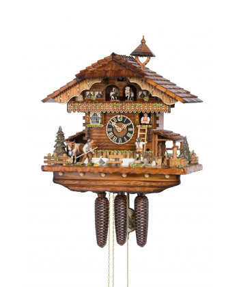 Orologio a cucù Foresta nera con carillon