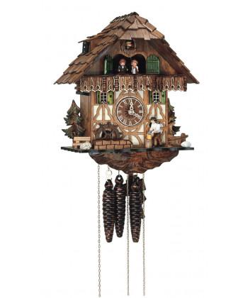 Schwarzwälder Kuckucksuhr mit Carillon
