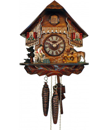 Cuckoo clock Black Forest cottage