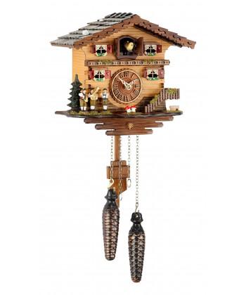 Horloge de coucou de forêt noire avec batterie