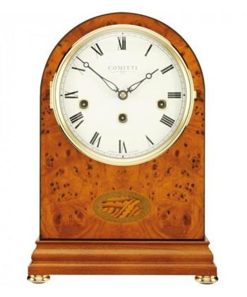 Mecánica de madera mesa reloj