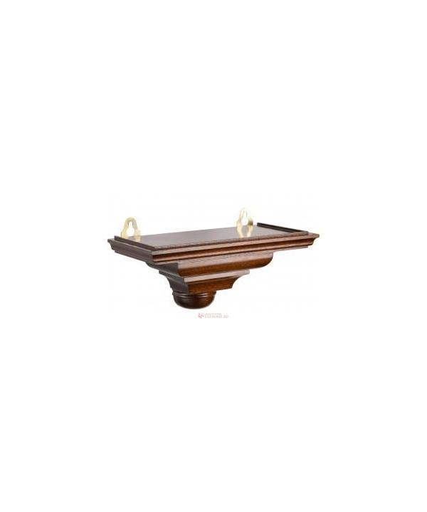 Quarz-Tischuhr aus Holz