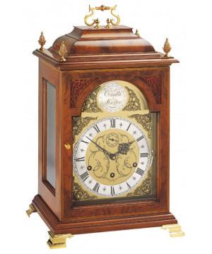 The Queen Anne - Grande orologio da tavolo meccanico in legno