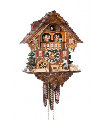 Black Forest cuckoo clock with carillon