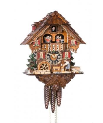 Schwarzwälder Kuckucksuhr mit Glockenspiel