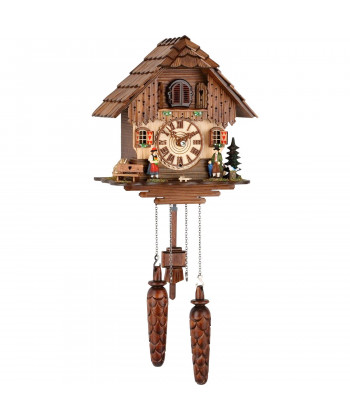 Black Forest cuckoo clock with battery