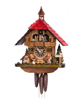 Cuckoo clock Black Forest cottage
