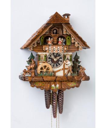 Kuckucksuhr Schwarzwald Hütte