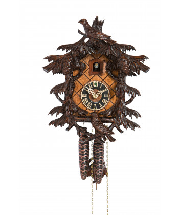 Black Forest cuckoo clock to 5 leaves