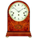 Orologio da tavolo meccanico in legno